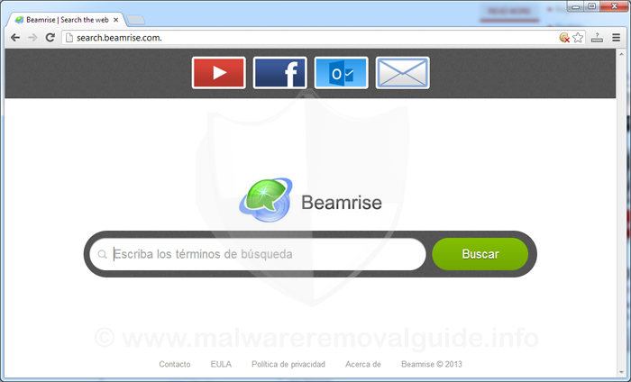 Search.beamrise.com - Beamrise Search [Removal Guide]