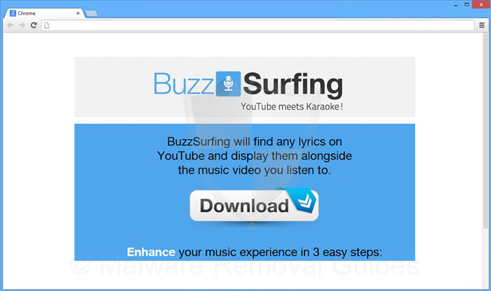 BuzzSurfing Removal Guide