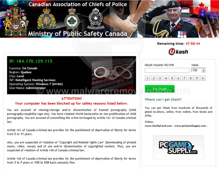 Canadian Association of Chefs of Police