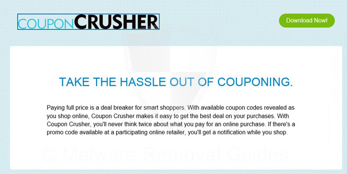 Remove Coupon Crusher adware