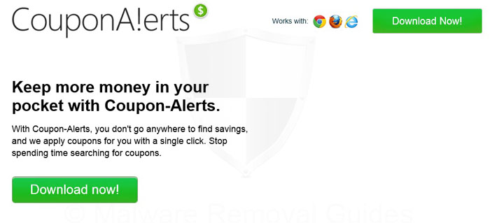 Remove CouponAlerts adware