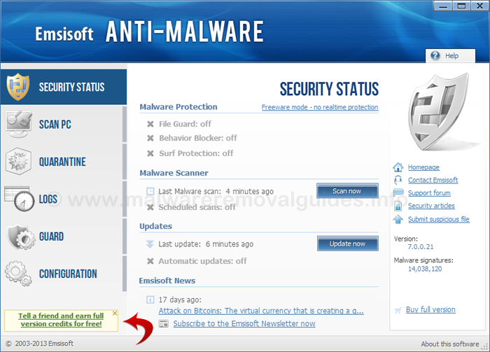 Anti spyware removal tool free download.