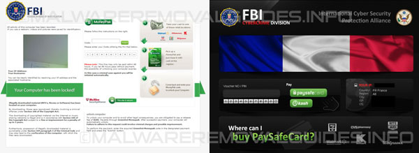 FBI Moneypak virus - How to remove
