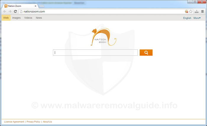 Nation Zoom Browser Hijacker Removal Instruction