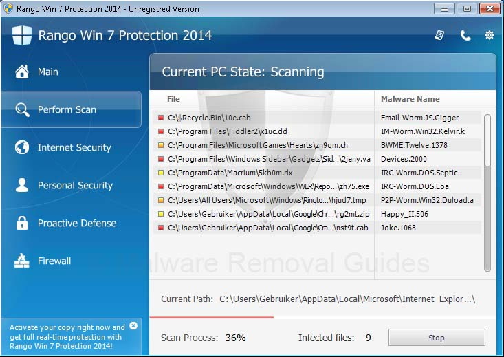Rango Win7 Protection 2014