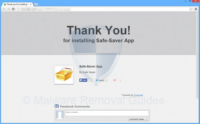 Remove SafeSaver (Removal Instruction)