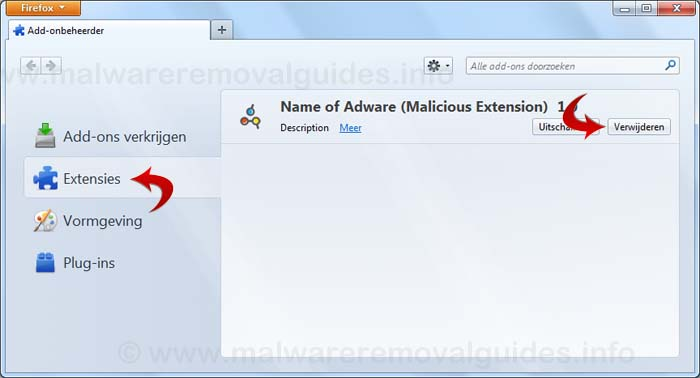 How to remove Adware from Mozilla Firefox