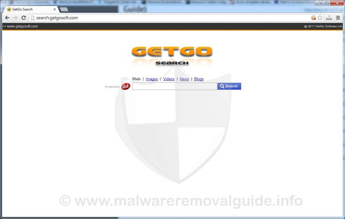 Search.getgosoft.com (GetGo Search) Removal Guide