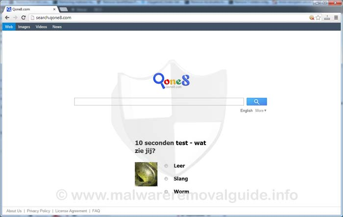 Search.Qone8.com Browser Hijacker Removal Guide