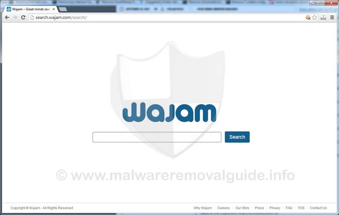 Search.Wajam.com Browser Hijacker Removal Guide