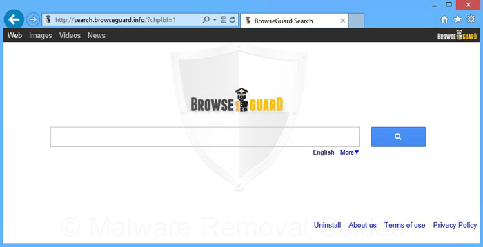 Remove browserguard search Browser info