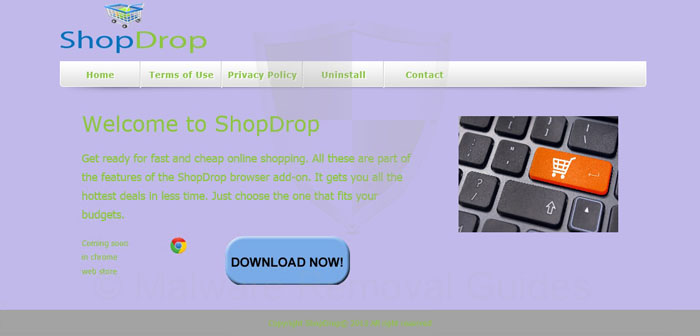 ShopDrop Removal Instructions