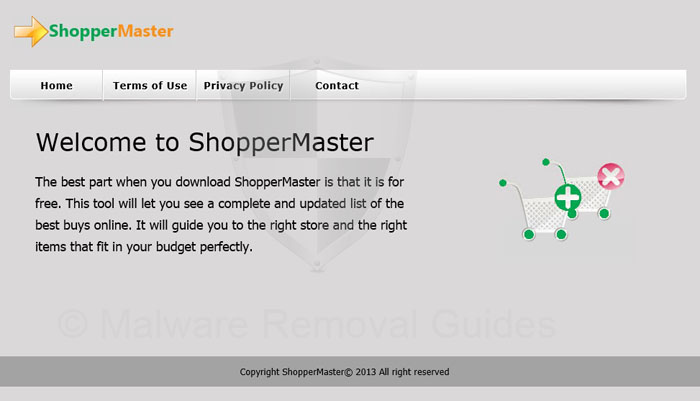 Remove ShopperMaster adware