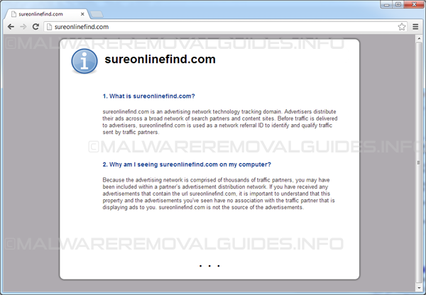 SureonlineFind.com / Click.SureonlineFind.com Removal Guide