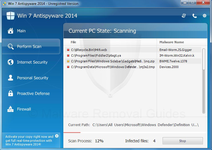 Remove Win 7 Antispyware 2014 (rogueware removal guide)