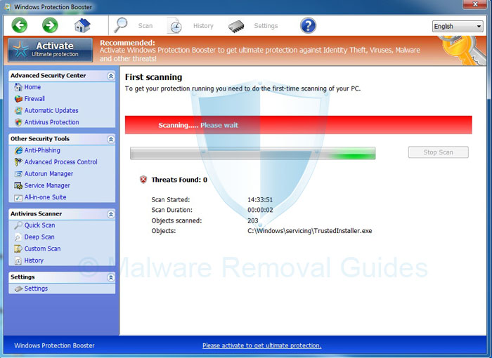 Windows Protection Booster (Removal Guide)