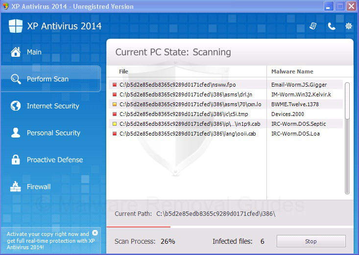 Remove XP Antispyware 2014 (rogueware removal guide)