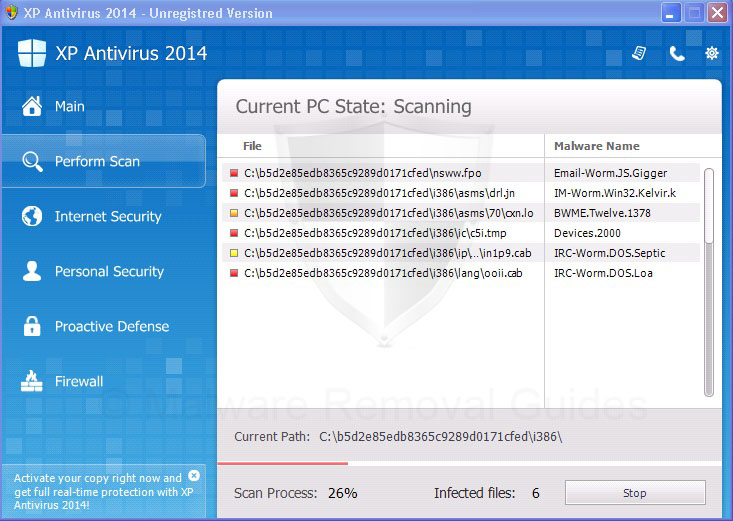 Remove XP Protection 2014 (rogueware removal guide)
