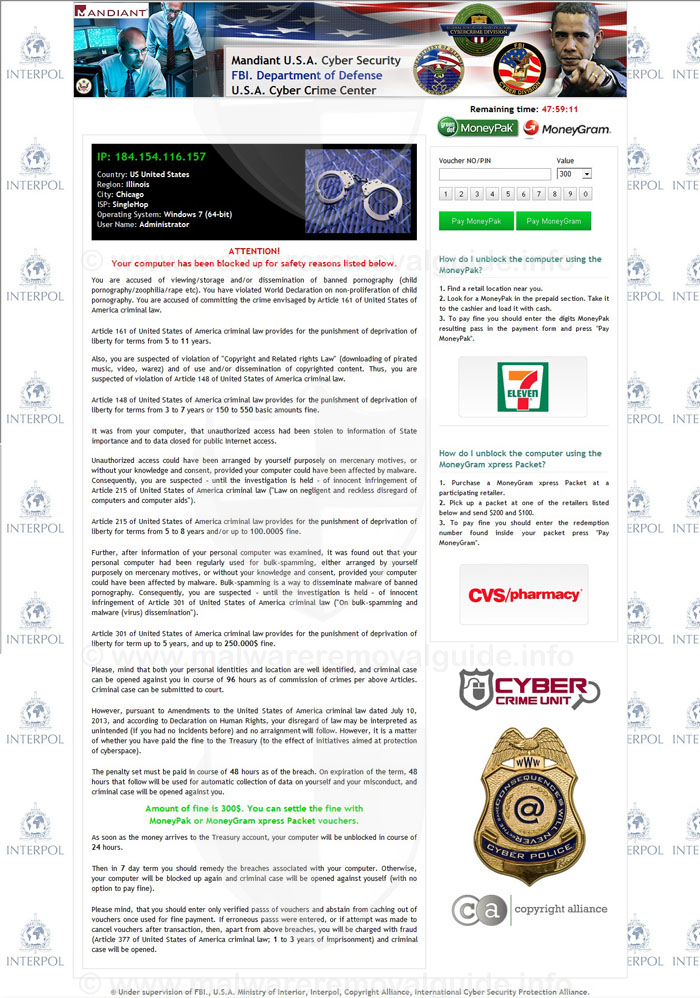 Mandiant USA Cyber Security Ransomware