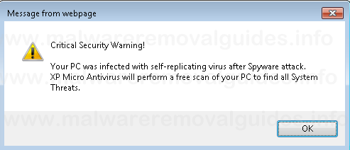 XP Micro Antivirus Online Scan [Removal Guide]